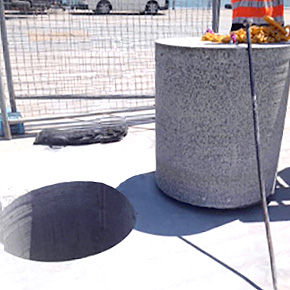Concrete Specialised Coring drilling La Trobe University