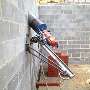 Concrete core drilling Yering