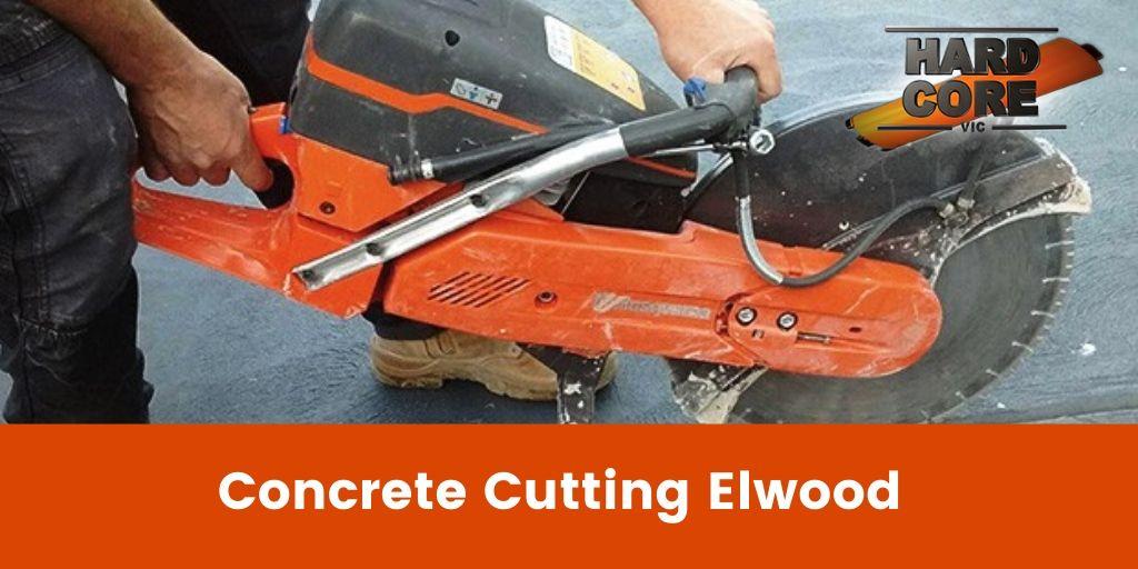 Concrete Cutting Elwood Banner