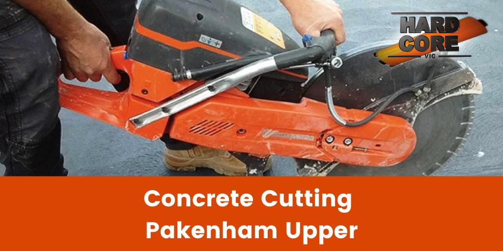 Concrete Cutting Pakenham Upper Banner